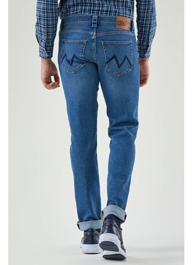 Hemington Slim Fit Denim Pantolon Mavi